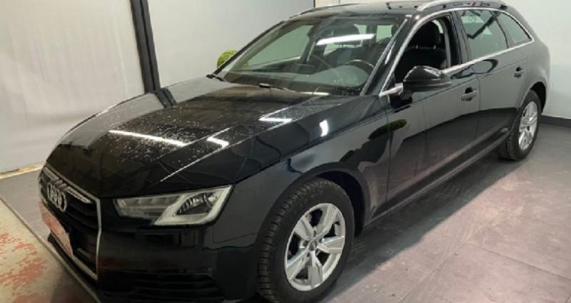 Audi A4 Avant 2.0 TDI 122 S tronic 7 Noir occasion à COURNON D'AUVERGNE - photo n°2
