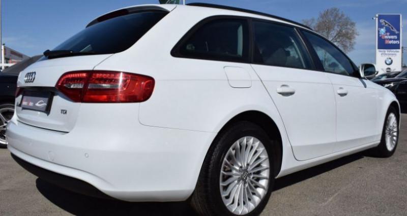 Audi A4 Avant 2.0 TDI 143CH DPF AMBIENTE MULTITRONIC Blanc occasion à VENDARGUES - photo n°4