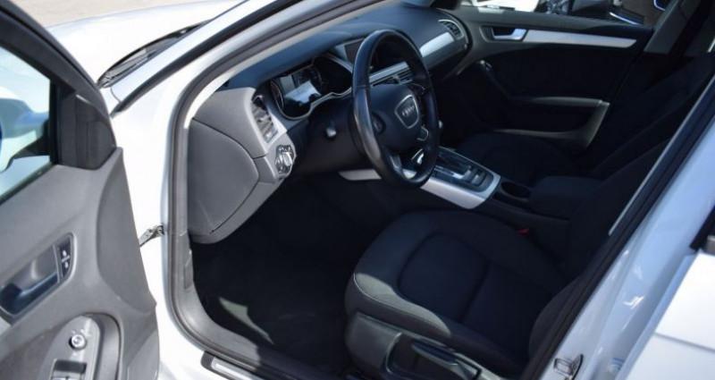 Audi A4 Avant 2.0 TDI 143CH DPF AMBIENTE MULTITRONIC Blanc occasion à VENDARGUES - photo n°6