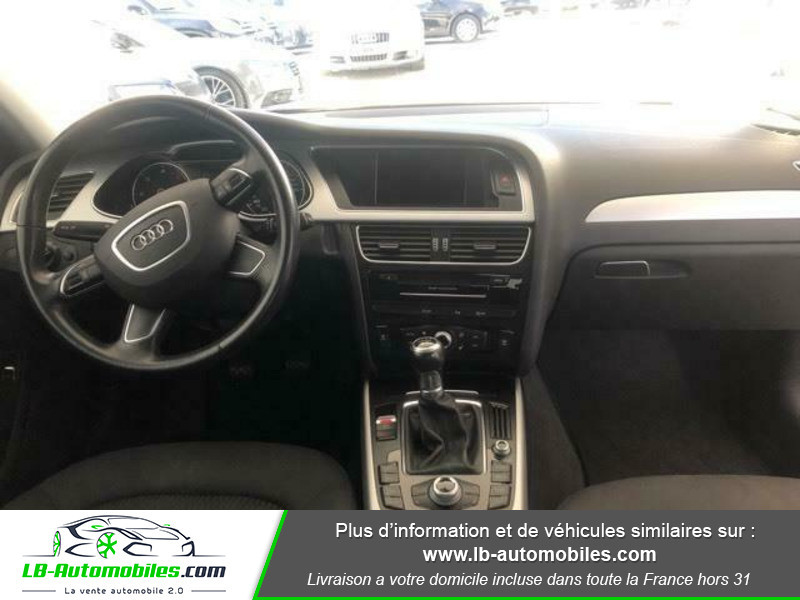 Audi A4 Avant 2.0 TDI 150 Noir occasion à Beaupuy - photo n°2