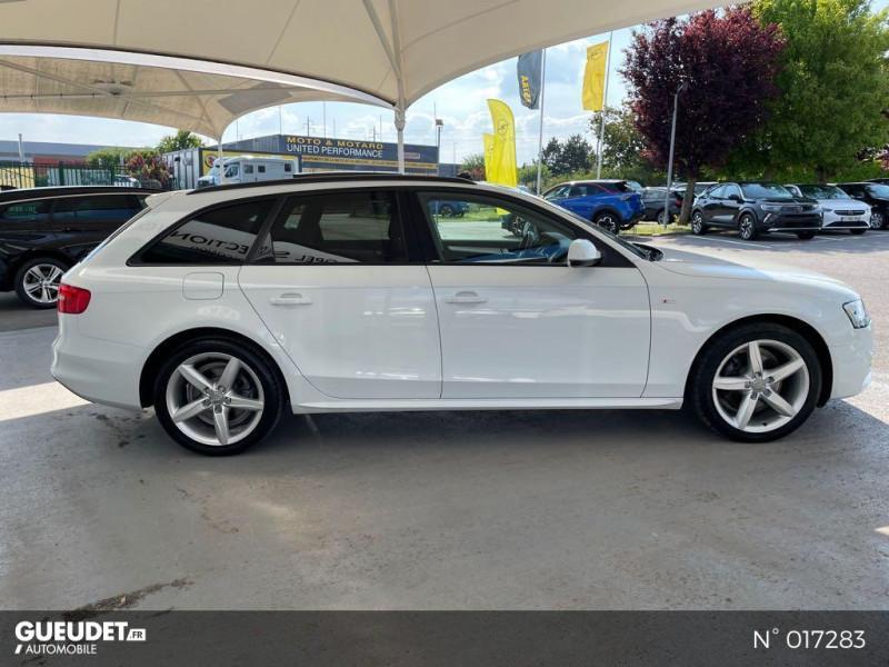 Audi A4 Avant 2.0 TDI 150ch clean diesel DPF Ambition Luxe Multitronic Eur Blanc occasion à Compiègne - photo n°7