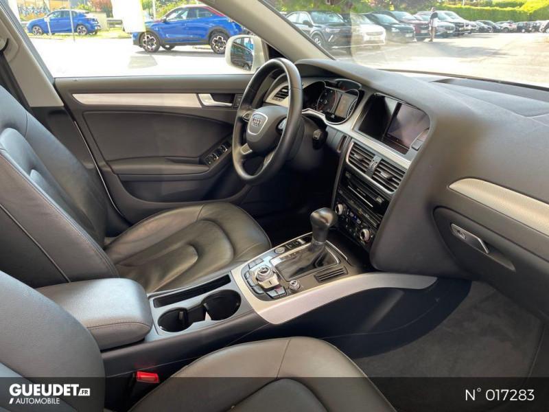 Audi A4 Avant 2.0 TDI 150ch clean diesel DPF Ambition Luxe Multitronic Eur Blanc occasion à Compiègne - photo n°4
