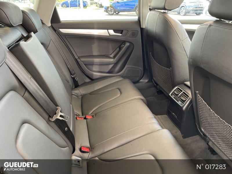 Audi A4 Avant 2.0 TDI 150ch clean diesel DPF Ambition Luxe Multitronic Eur Blanc occasion à Compiègne - photo n°5