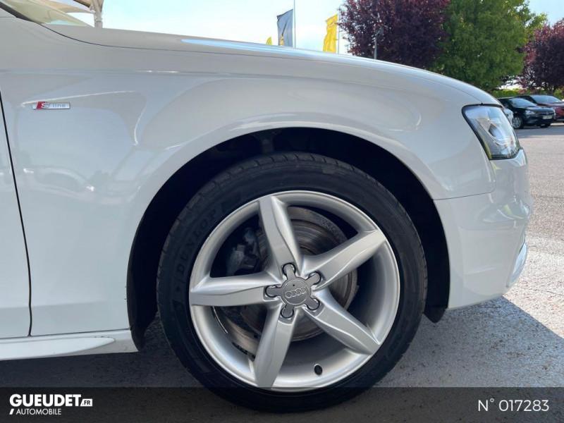 Audi A4 Avant 2.0 TDI 150ch clean diesel DPF Ambition Luxe Multitronic Eur Blanc occasion à Compiègne - photo n°9