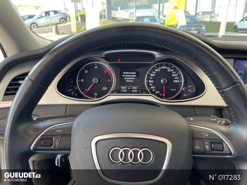 Audi A4 Avant 2.0 TDI 150ch clean diesel DPF Ambition Luxe Multitronic Eur Blanc occasion à Compiègne - photo n°12