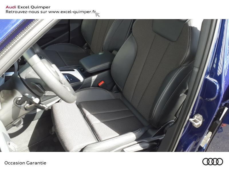 Audi A4 Avant 2.0 TDI 190ch S line S tronic 7 Bleu occasion à Quimper - photo n°7