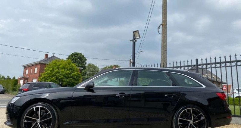 Audi A4 Avant 2.0 TDi Ultra LED - Leder - Navigatie - Cruise - PDC Noir occasion à Zwevegem - photo n°4