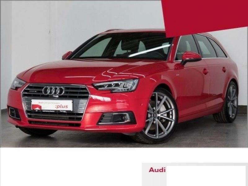 Audi A4 Avant 2.0 TFSI 252 Quattro S Line Rouge occasion à Beaupuy