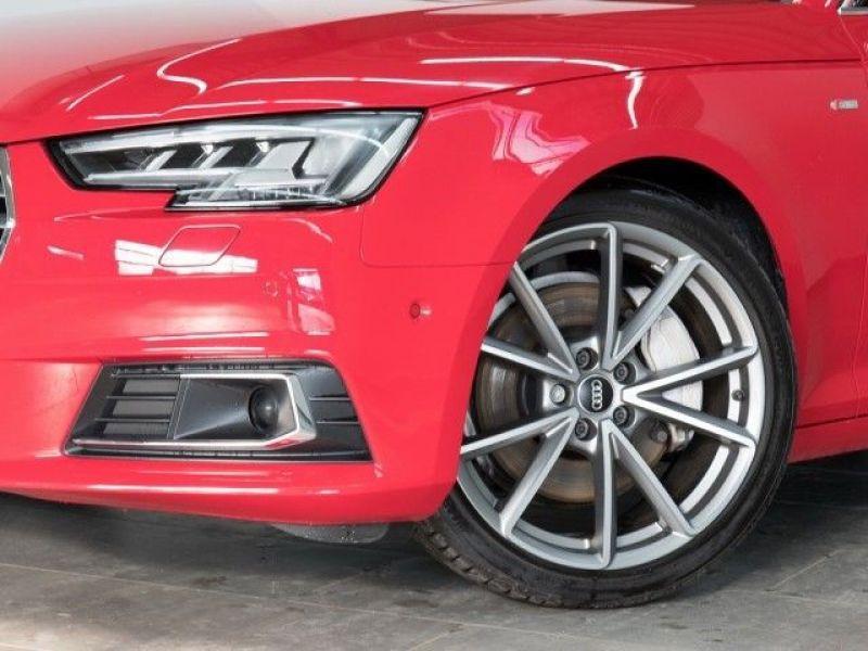 Audi A4 Avant 2.0 TFSI 252 Quattro S Line Rouge occasion à Beaupuy - photo n°9