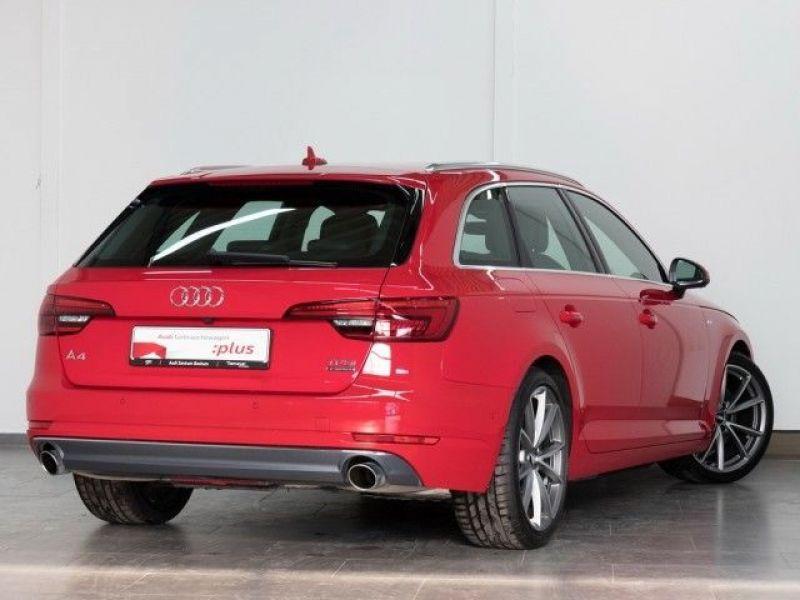 Audi A4 Avant 2.0 TFSI 252 Quattro S Line Rouge occasion à Beaupuy - photo n°3