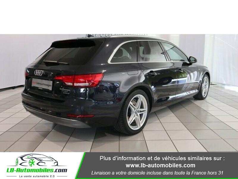 Audi A4 Avant 3.0 TDI 218 S-Tronic Quattro Bleu occasion à Beaupuy - photo n°3