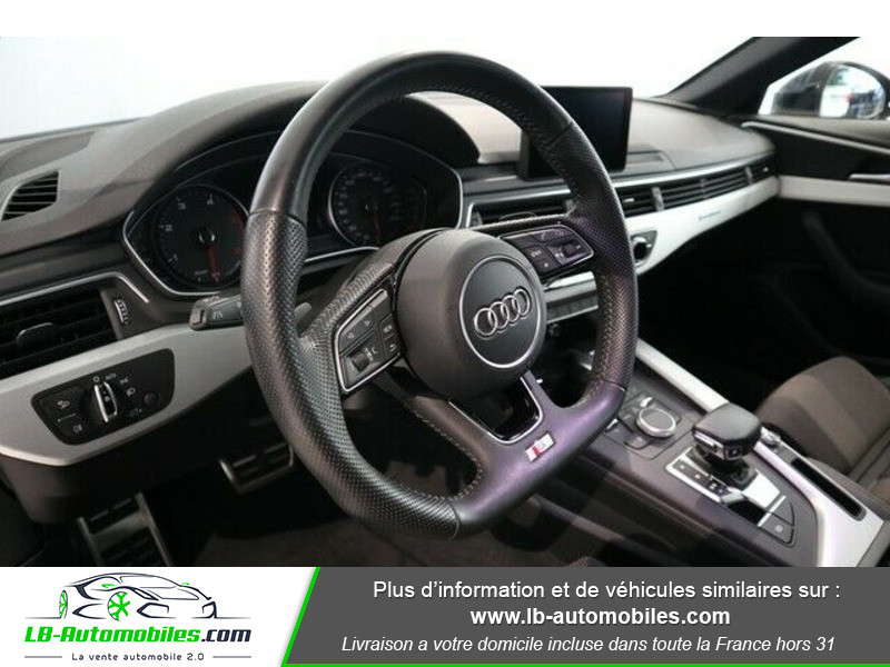 Audi A4 Avant 3.0 TDI 218 S-Tronic Quattro Bleu occasion à Beaupuy - photo n°5