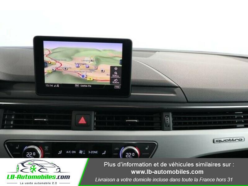 Audi A4 Avant 3.0 TDI 218 S-Tronic Quattro Bleu occasion à Beaupuy - photo n°7