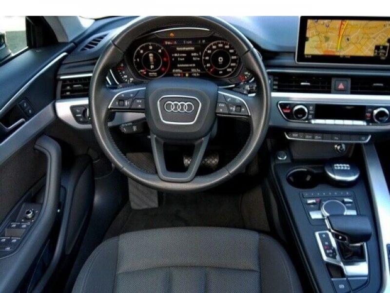 Audi A4 Avant 3.0 TDI 218 Bleu occasion à Beaupuy - photo n°5