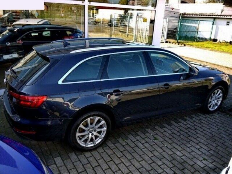 Audi A4 Avant 3.0 TDI 218 Bleu occasion à Beaupuy - photo n°3