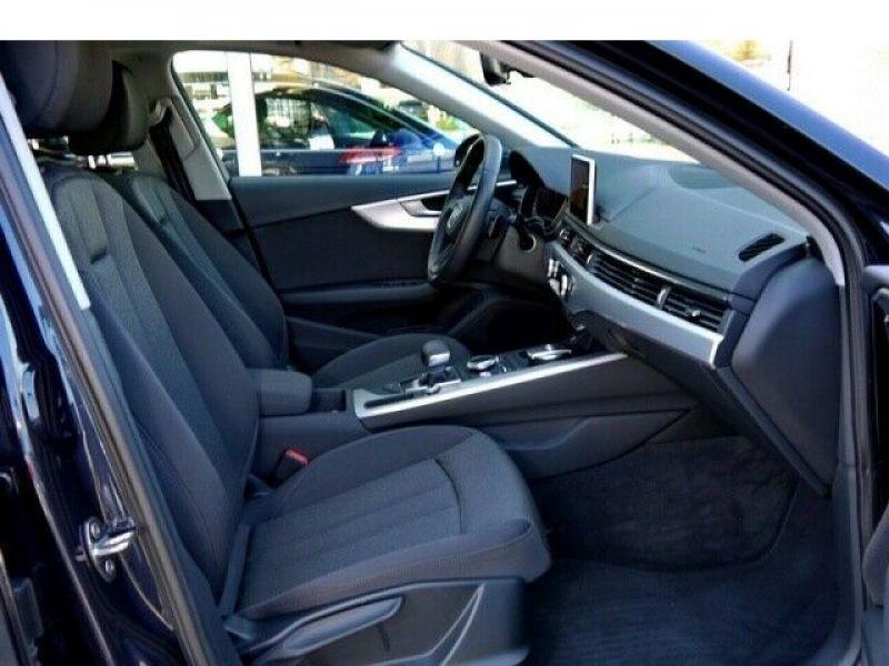 Audi A4 Avant 3.0 TDI 218 Bleu occasion à Beaupuy - photo n°4