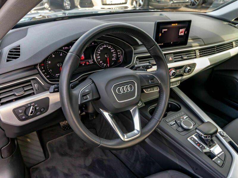 Audi A4 Avant 3.0 TDI 218 Noir occasion à Beaupuy - photo n°8