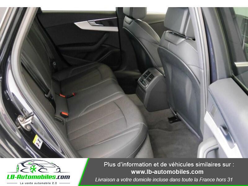 Audi A4 Avant 3.0 TDI Quattro 272 S-Tronic / S-Line Bleu occasion à Beaupuy - photo n°5