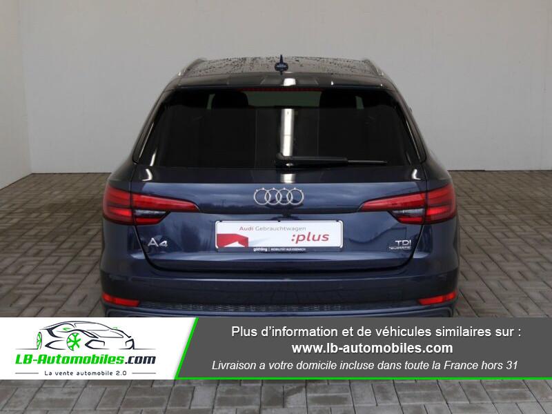 Audi A4 Avant 3.0 TDI Quattro 272 S-Tronic / S-Line Bleu occasion à Beaupuy - photo n°10