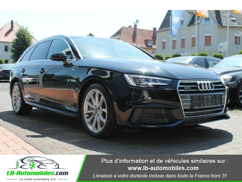 Audi A4 Avant 3.0 TDI Quattro 272 S-Tronic / S-Line Noir occasion à Beaupuy - photo n°6
