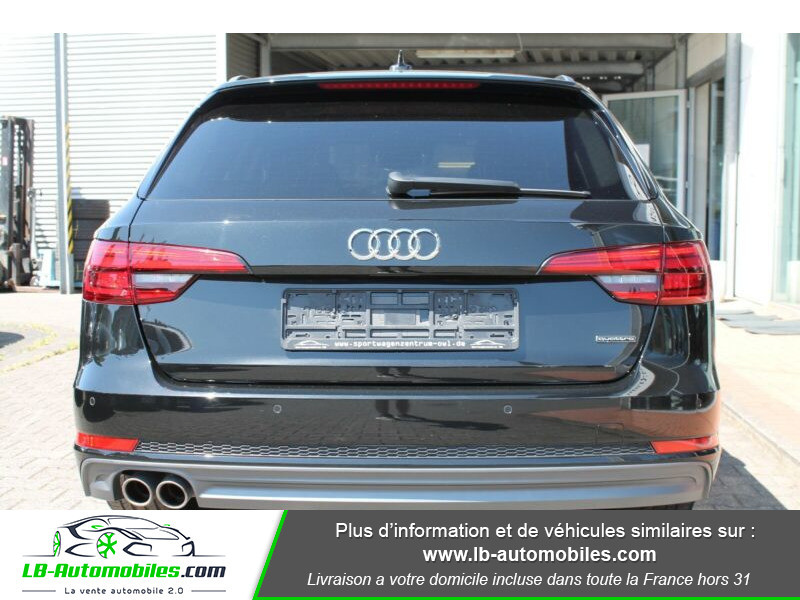 Audi A4 Avant 3.0 TDI Quattro 272 S-Tronic / S-Line Noir occasion à Beaupuy - photo n°5