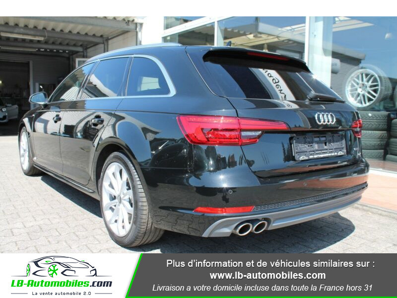 Audi A4 Avant 3.0 TDI Quattro 272 S-Tronic / S-Line Noir occasion à Beaupuy - photo n°4