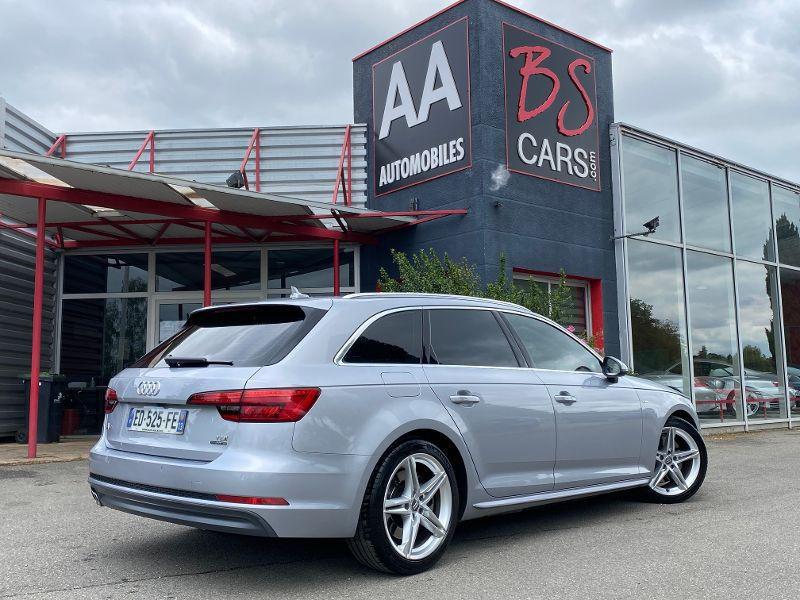 Audi A4 Avant 3.0 TDI S-LINE S-TRONIC 272CV Gris occasion à Castelmaurou - photo n°2