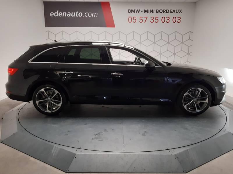 Audi A4 Avant 35 TDI 150 S tronic 7 Design Noir occasion à Lormont - photo n°3