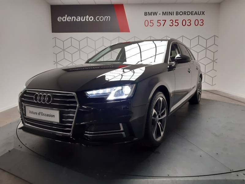 Audi A4 Avant 35 TDI 150 S tronic 7 Design Noir occasion à Lormont