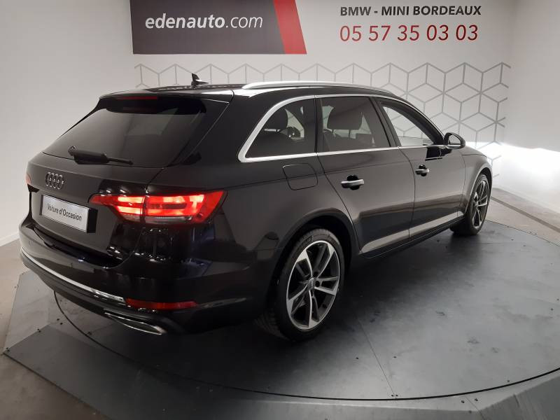 Audi A4 Avant 35 TDI 150 S tronic 7 Design Noir occasion à Lormont - photo n°2