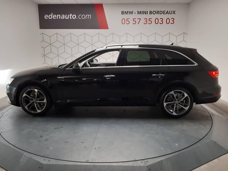 Audi A4 Avant 35 TDI 150 S tronic 7 Design Noir occasion à Lormont - photo n°11