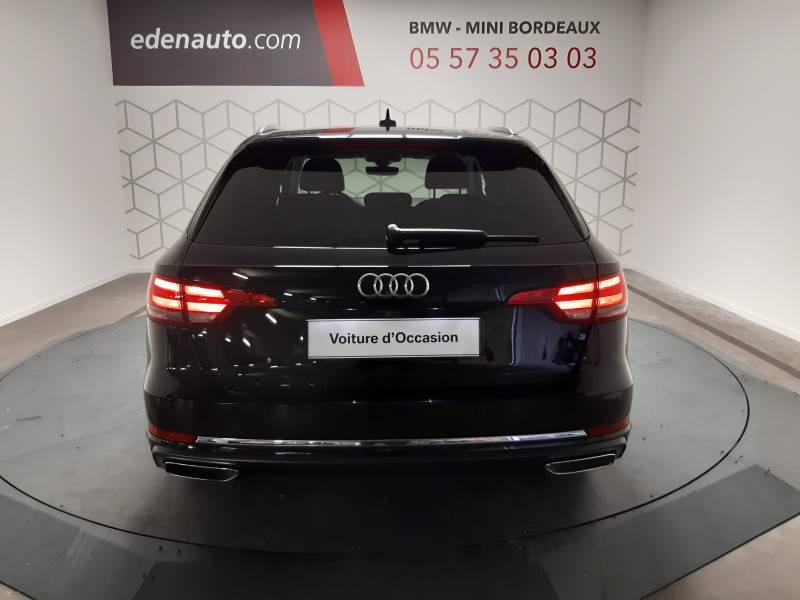 Audi A4 Avant 35 TDI 150 S tronic 7 Design Noir occasion à Lormont - photo n°6