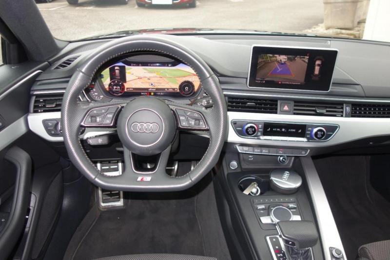 Audi A4 Avant 35 TDI 150 S tronic 7 S line Noir occasion à PLOERMEL - photo n°7