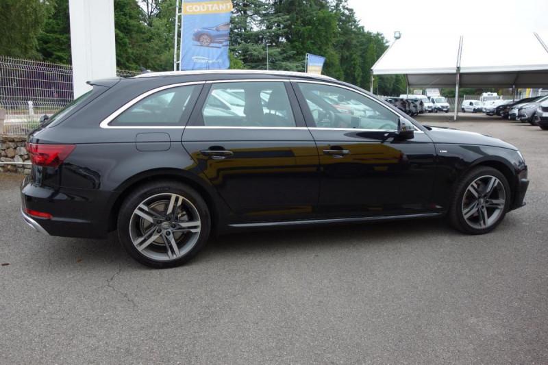 Audi A4 Avant 35 TDI 150 S tronic 7 S line Noir occasion à PLOERMEL - photo n°6