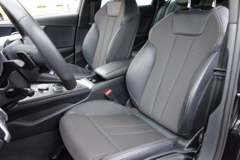 Audi A4 Avant 35 TDI 150 S tronic 7 S line Noir occasion à PLOERMEL - photo n°9