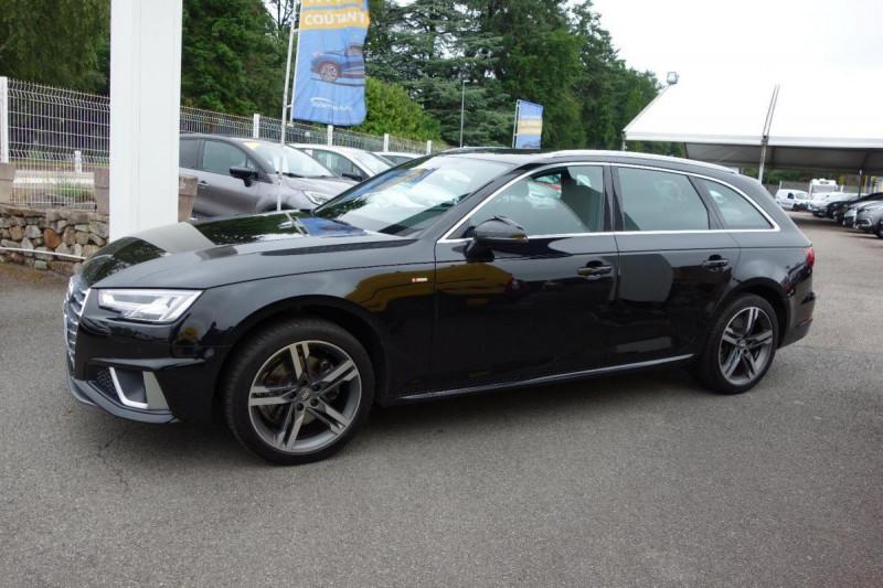 Audi A4 Avant 35 TDI 150 S tronic 7 S line Noir occasion à PLOERMEL - photo n°3