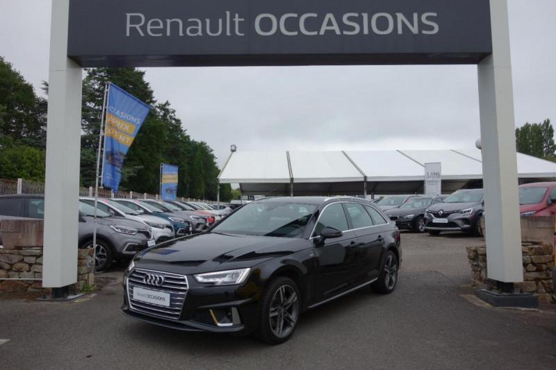 Audi A4 Avant 35 TDI 150 S tronic 7 S line Noir occasion à PLOERMEL