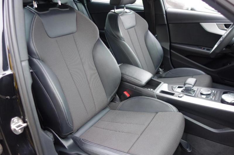 Audi A4 Avant 35 TDI 150 S tronic 7 S line Noir occasion à PLOERMEL - photo n°12