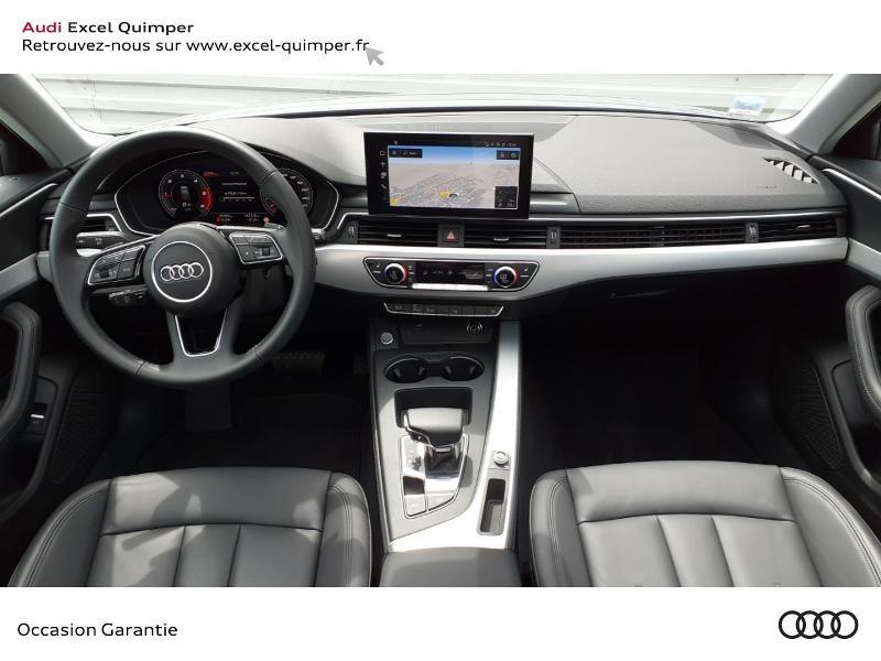 Audi A4 Avant 35 TDI 163ch Avus S tronic 7 9cv Argent occasion à Quimper - photo n°6