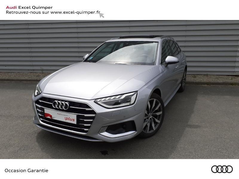 Audi A4 Avant 35 TDI 163ch Avus S tronic 7 9cv Argent occasion à Quimper