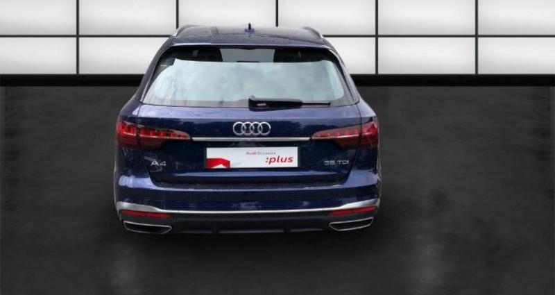 Audi A4 Avant 35 TDI 163ch S line S tronic 7 9cv Bleu occasion à La Rochelle - photo n°4