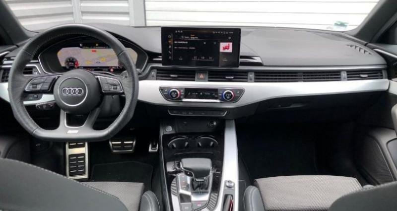 Audi A4 Avant 35 TDI 163ch S line S tronic 7 9cv Bleu occasion à La Rochelle - photo n°6
