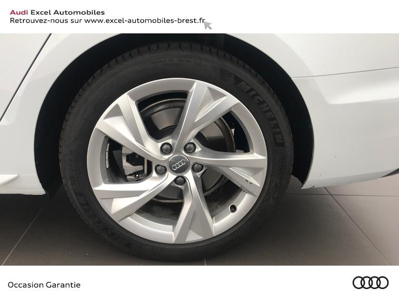 Audi A4 Avant 35 TDI 163ch S line S tronic 7 9cv Blanc occasion à Brest - photo n°17