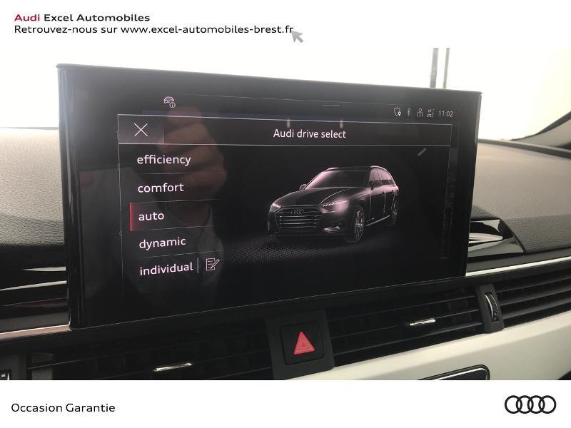 Audi A4 Avant 35 TDI 163ch S line S tronic 7 9cv Blanc occasion à Brest - photo n°13