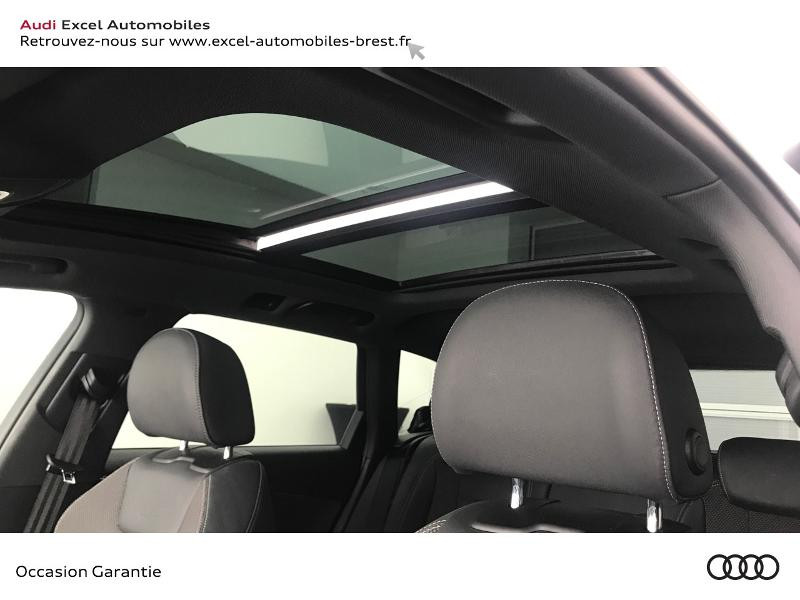 Audi A4 Avant 35 TDI 163ch S line S tronic 7 9cv Blanc occasion à Brest - photo n°15
