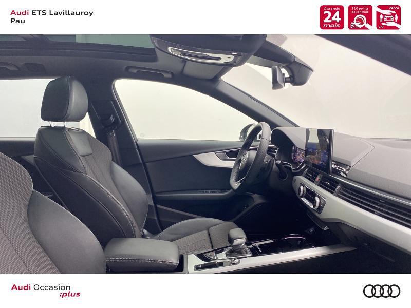 Audi A4 Avant 35 TDI 163ch S line S tronic 7 9cv Blanc occasion à Lescar - photo n°7