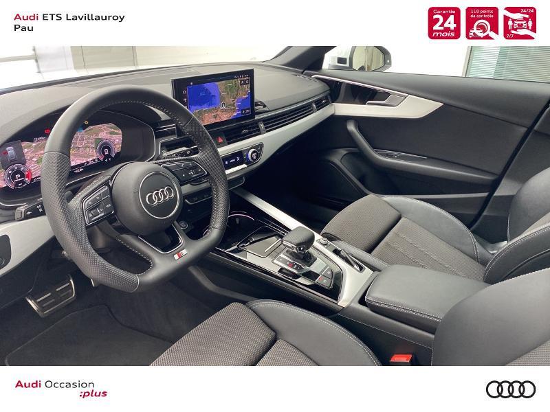 Audi A4 Avant 35 TDI 163ch S line S tronic 7 9cv Blanc occasion à Lescar - photo n°12