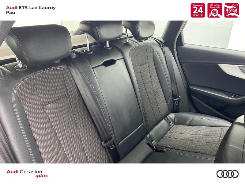Audi A4 Avant 35 TDI 163ch S line S tronic 7 9cv Blanc occasion à Lescar - photo n°8