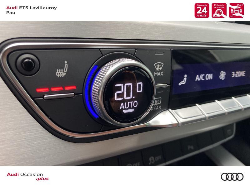 Audi A4 Avant 35 TDI 163ch S line S tronic 7 9cv Blanc occasion à Lescar - photo n°15