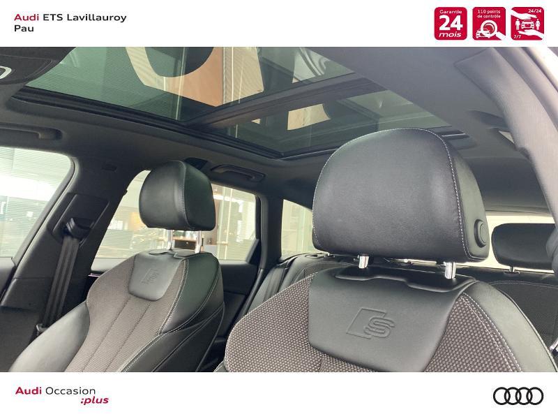 Audi A4 Avant 35 TDI 163ch S line S tronic 7 9cv Blanc occasion à Lescar - photo n°13